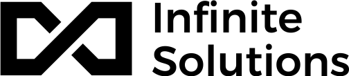 Infinite Solutions logo dark